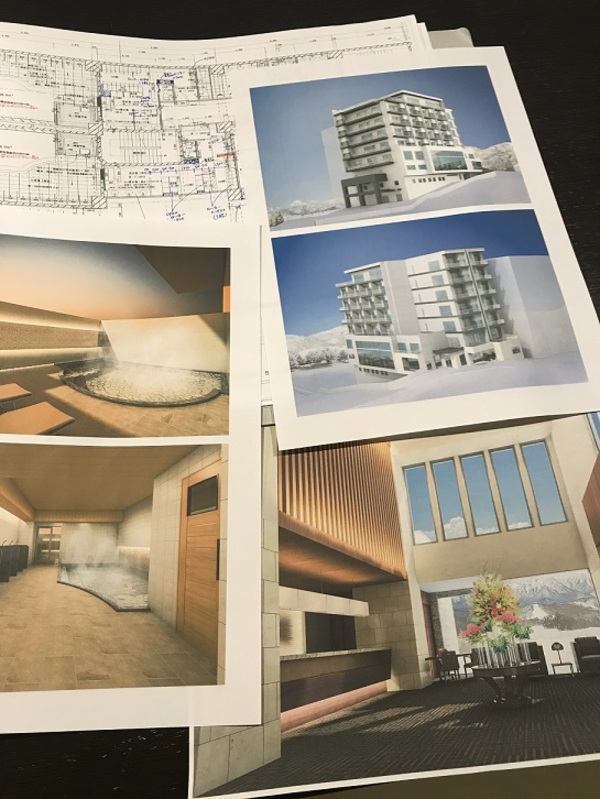 リゾート・ホテル設計プロジェクト進行中サムネイル