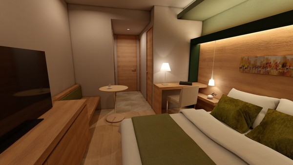 都心のホテルインテリア プロジェクトサムネイル