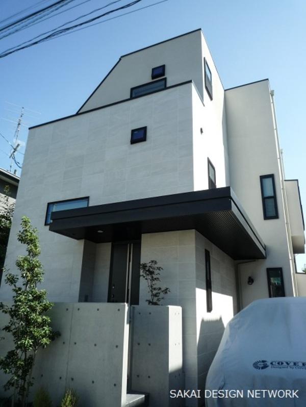 世田谷でデザイン住宅を設計しましたサムネイル