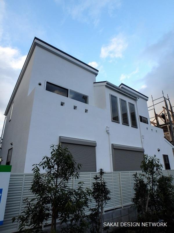 日野市で分譲住宅を設計しましたサムネイル