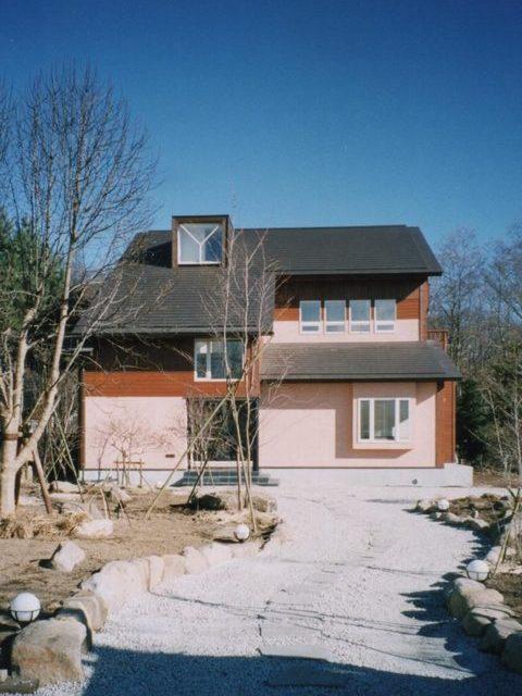 八ヶ岳の週末住宅サムネイル